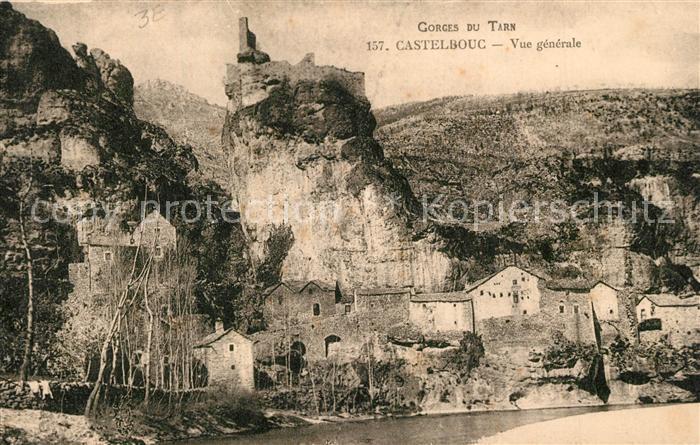 Castelbouc Gorges du Tarn Castelbouc