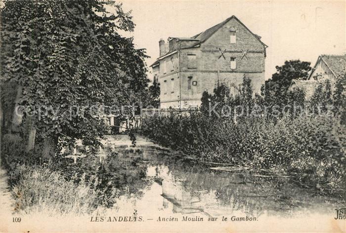 Les_Andelys Ancien Moulin sur le Gambon Les_Andelys