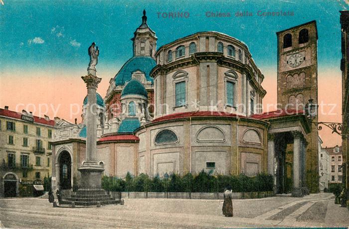Torino Chiesa della Consolata Torino