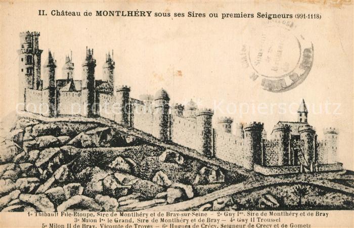 Montlhery Chateau sous ses Sires ou prmiers Seigneurs Montlhery
