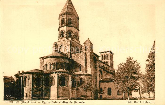 Brioude Eglise Saint Julien de Brioude Brioude