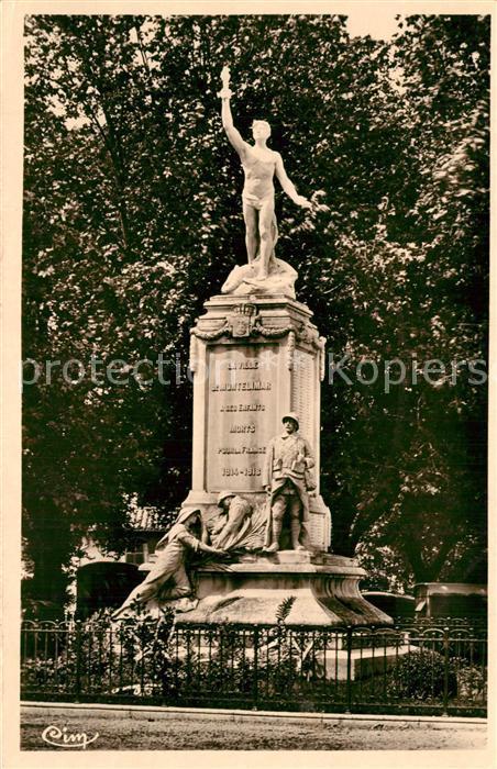 Montelimar Monument aux Morts Kriegerdenkmal Montelimar