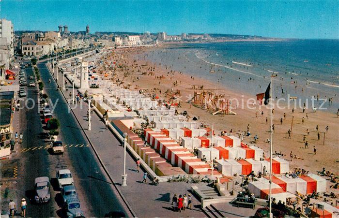 Les_Sables d_Olonne Le remblai et la plage Les_Sables d_Olonne