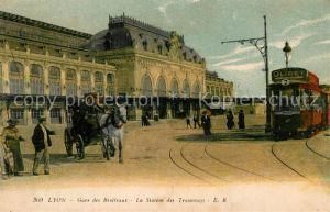 Strassenbahn Lyon Gare des Brotteaux Station des Tramways