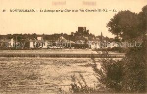 Montrichard Barrage sur le Cher  Montrichard