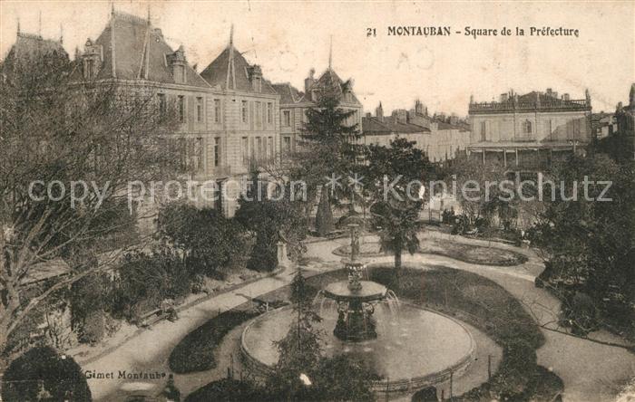 Montauban Square de la Prefecture Montauban