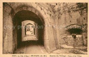 Saint_Paul_Cote_d_Azur Entree du Village Saint_Paul_Cote_d_Azur