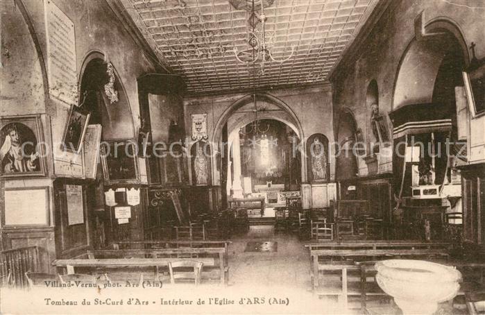Ars_Ain Tombeau du St Cure d'Ars Interieur de l'Eglise d Ars Ars_Ain