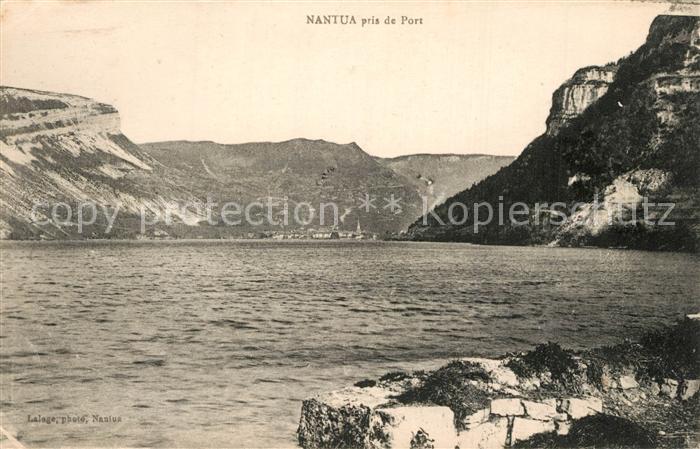 Nantua pris de Port Nantua
