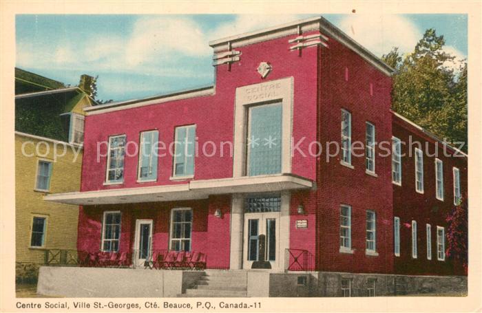 Beauce_Quebec Centre Social Ville St Georges
