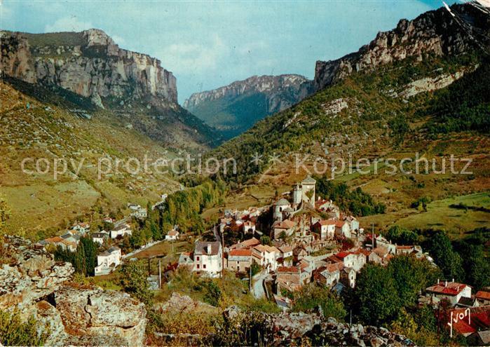 Le_Rozier Panorama Entree des Gorges de la Jonte Collection Les Gorges du Tarn Le_Rozier