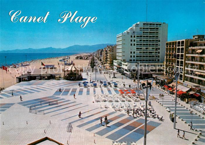 Canet_Plage Place de la Mediterranee Hotels Plage Canet_Plage