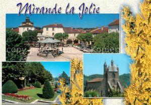 Mirande Place Astarac Eglise Parc Mirande