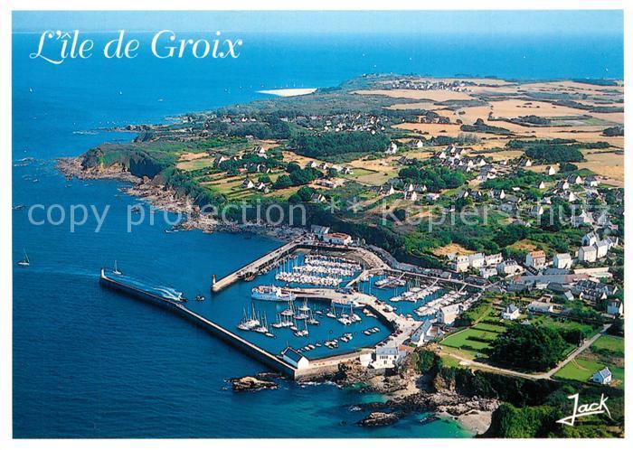 Ile_de_Groix Port Tudy vue aerienne