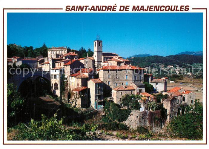 Saint Andre de Majencoules Vue generale Eglise Saint Andre de Majencoules