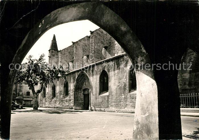 Villeneuve les Avignon Eglise de l ancienne collegiale Villeneuve les Avignon