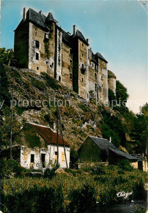 Boussac_Creuse Vieux Chateau Boussac Creuse