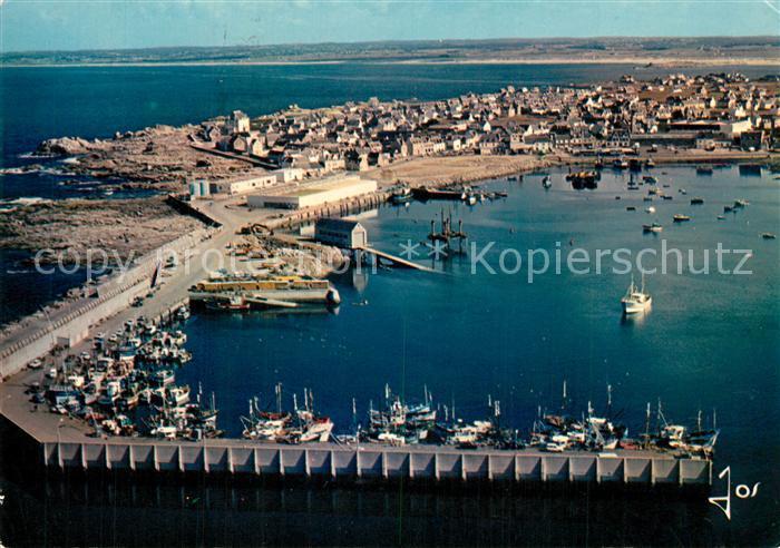 Saint Guenole Port de Peche vue aerienne Saint Guenole