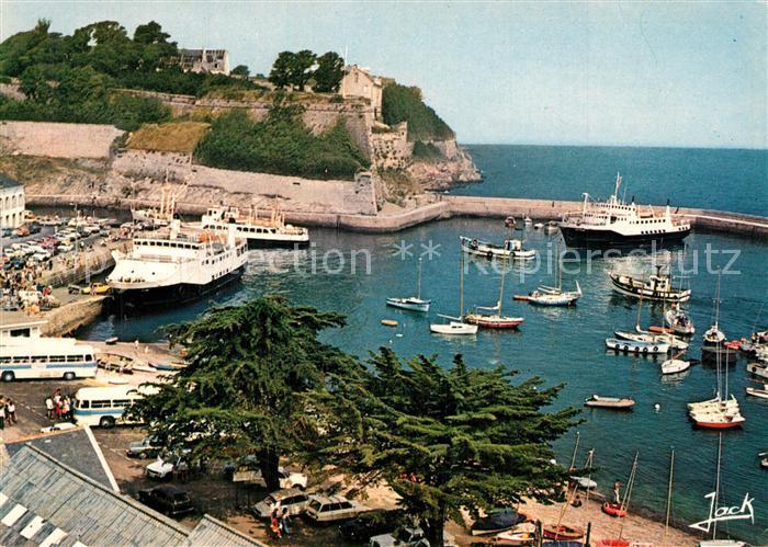 Belle Ile en Mer Port du Palais et la Citadelle Belle Ile en Mer