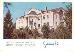 Gudauta Sanatorium der Bauarbeiter