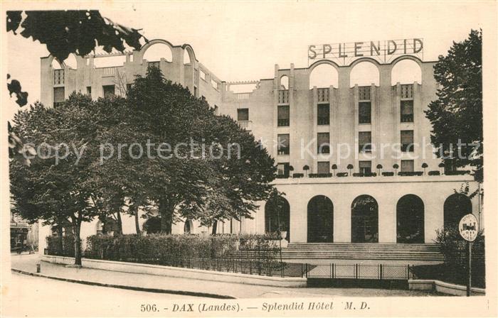 Dax_Landes Splendid Hotel Dax_Landes