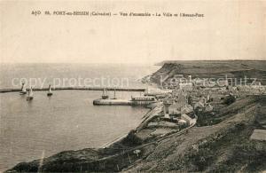 Port en Bessin La Ville et l`Avant Port Port en Bessin