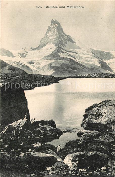 Matterhorn_VS mit Stellisee Matterhorn VS