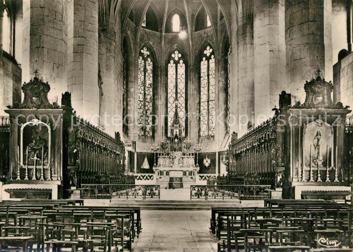 Saint Claude_Jura Cathedrale Basilique de Saint Claude ancienne Eglise Abbatiale Forteresse Choeur Autel Saint Claude_Jura