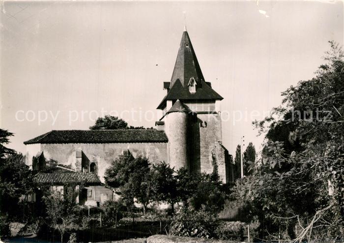 Pontenx les Forges Eglise paroissiale du XIVe siecle Pontenx les Forges