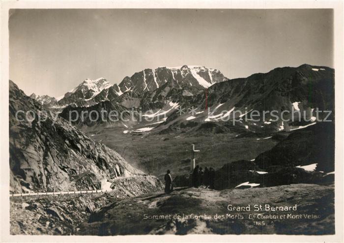 Grand_Saint_Bernard Gebirgspanorama Walliser Alpen Grand_Saint_Bernard