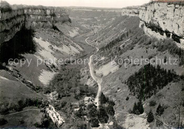 Baume les Messieurs Panorama de la Vallee Collection Notre Beau Jura Baume les Messieurs