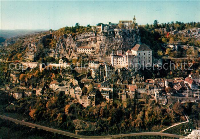 Rocamadour Vue generale Lieu de pelerinage Etape sur la Route de Saint Jacques de Compostelle Rocamadour