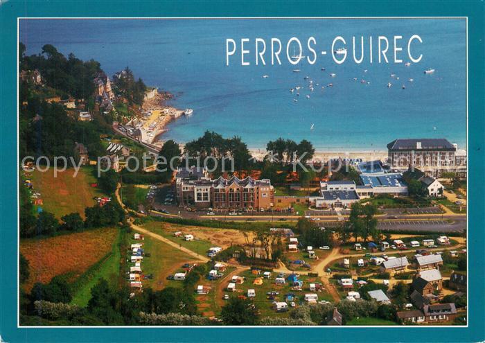 Perros Guirec Tretraou Centre Pierre et Vacances Thalassotherapie vue aerienne Perros Guirec
