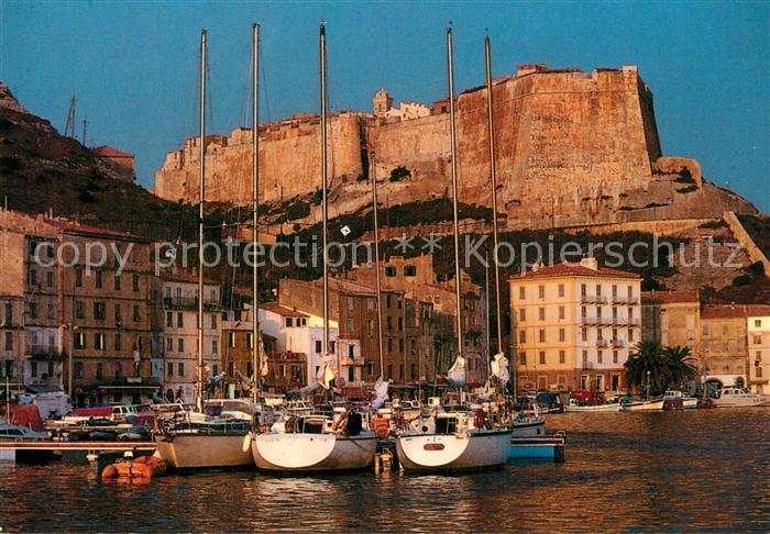 Bonifacio_Corse_du_Sud Marine et Citadelle voiliers Bonifacio_Corse_du_Sud