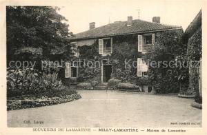 Milly Lamartine Maison de Lamartine Milly Lamartine