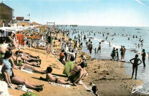 Chatelaillon Plage La plage a l heure du bain Chatelaillon Plage
