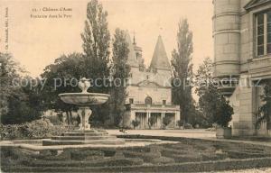 Anet Fontaine dans le parc du Chateau Anet