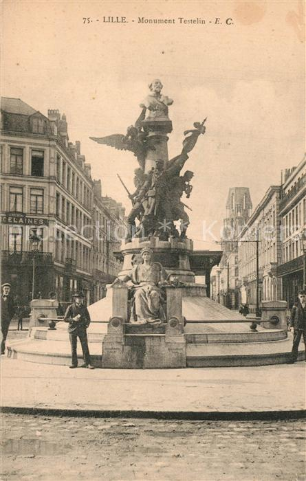 Lille_Nord Monument Testelin Lille_Nord