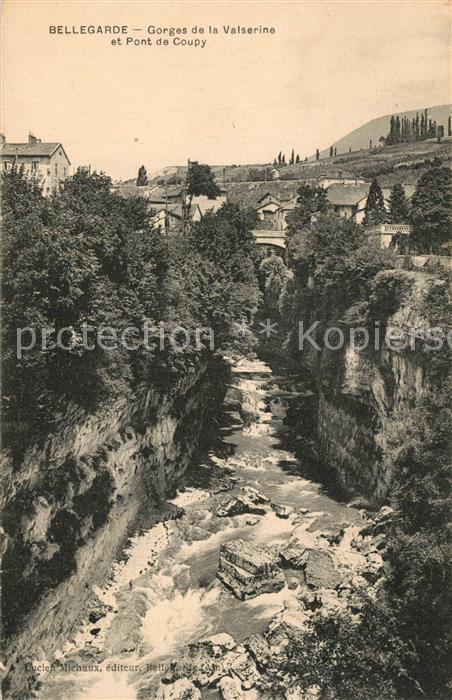 Bellegarde sur Valserine Gorges de la Valserine et Pont de Coupy Bellegarde sur Valserine