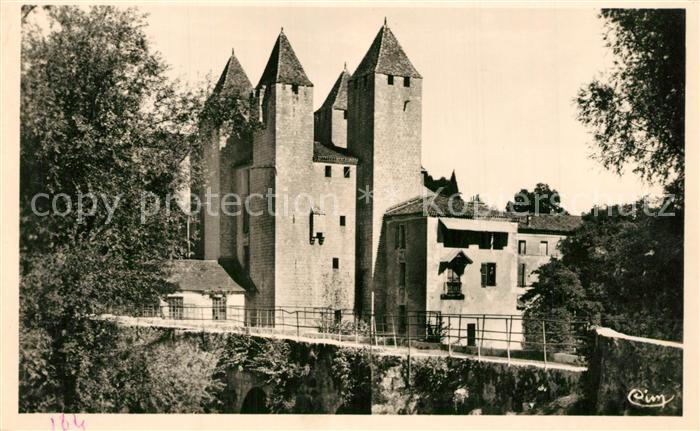 Nerac Pont de Barbaste sur la Gelise Nerac
