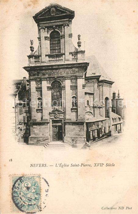 Nevers_Nievre Eglise Saint Pierre XVIIe siecle Nevers Nievre