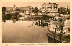 Boulogne sur Mer Arriere Port Gare Centrale  Boulogne sur Mer