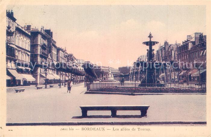 Bordeaux Allees de Tourny  Bordeaux