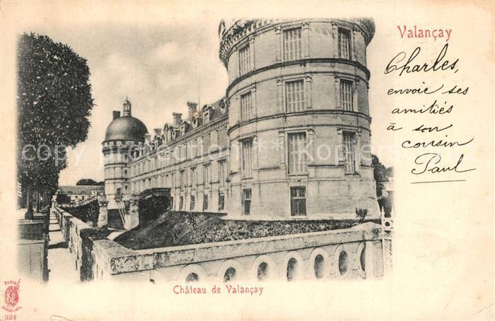 Valencay Chateau  Valencay