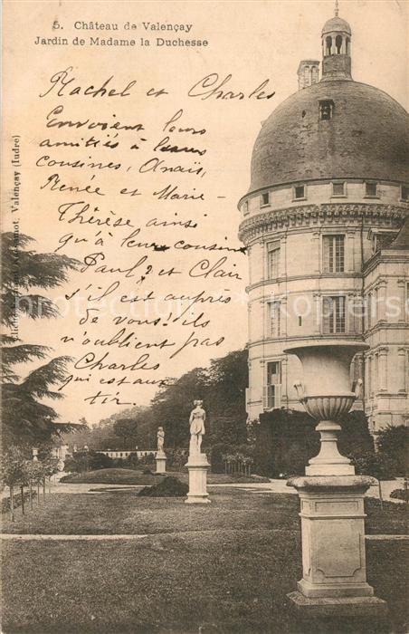 Valencay Chateau Jardin de Madame la Duchesse  Valencay