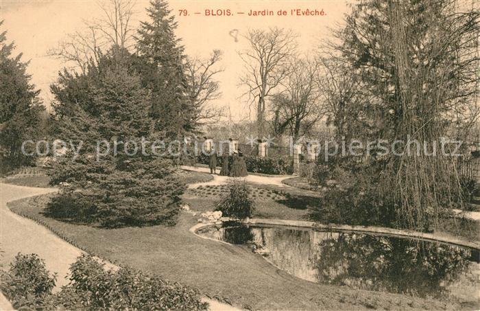 Blois_Loir_et_Cher Jardin de l Eveche  Blois_Loir_et_Cher