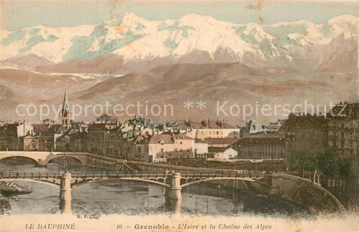 Grenoble Isere Chaine des Alpes Grenoble