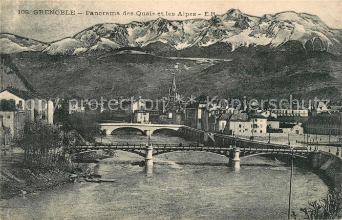 Grenoble Quai Alpes  Grenoble