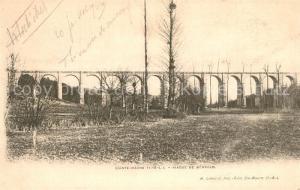 Sainte Maure de Touraine Viaduc de Benauld  Sainte Maure de Touraine