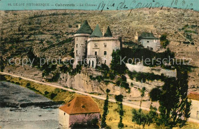 Cabrerets Chateau  Cabrerets